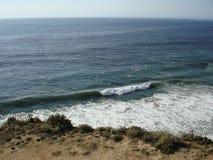 Riva costiera della strada principale 1 in CA Fotografie Stock