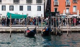 Riva degli Schiavoni Stock Photography