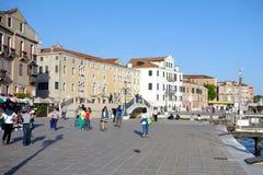 Riva degli Schiavoni Lizenzfreies Stockbild