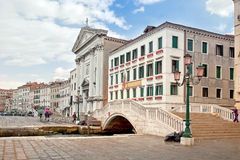 Riva degli Schiavoni. Embankment. Venice Royalty Free Stock Photography