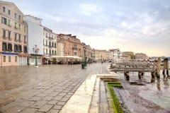 Riva degli Schiavoni. Embankment. Venice Royalty Free Stock Photography