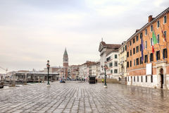 Riva degli Schiavoni. Embankment. Venice Stock Photos