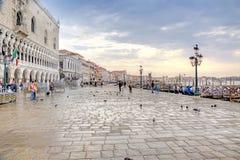 Riva degli Schiavoni. Embankment. Venice. HDR Stock Image
