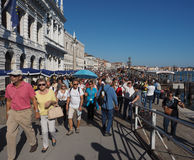 Riva-degli Schiavoni in Venetië Royalty-vrije Stock Fotografie