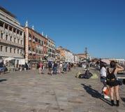 Riva degli Schiavoni in Venice Royalty Free Stock Images