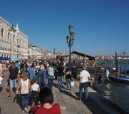 Riva degli Schiavoni in Venice Stock Images