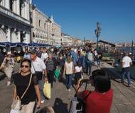 Riva degli Schiavoni in Venice Stock Photos
