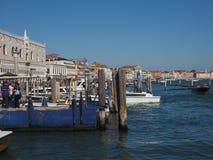 Riva degli Schiavoni in Venice Stock Photography