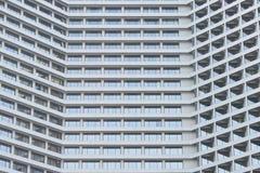 Riva del fiume della torre dell'hotel a Bangkok Tailandia Fotografia Stock