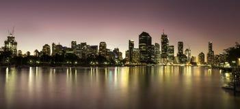Riva del fiume di Brisbane Immagine Stock Libera da Diritti