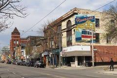 Riva del fiume Toronto Fotografia Stock