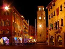 Riva del Garda городок и comune в северной итальянской провинции Trento области Адидже альта Trentino и Lago di Garda стоковые фото