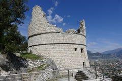 Riva del Garda - bastion Photos stock