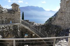 Riva del Garda - bastion Images stock