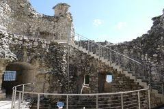 Riva del Garda - bastion Image stock