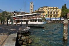 Riva del Garda, Garda lake, Italy. Stock Photography