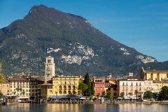 Riva del Garda, Italië stock foto's