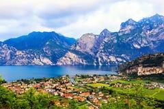 Riva Del Garda - Italia del Nord Fotografia Stock Libera da Diritti