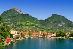Riva del Garda - Italy. The city of Riva del Garda, situated in the northern part of the largest Italian lake, Lago di Garda