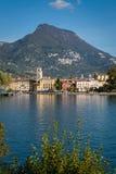 Riva del Garda Italy royaltyfria foton