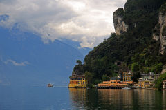 Riva del Garda. In Italy Stock Photo