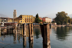 Riva del Garda, lago Garda, Italia Fotografia Stock
