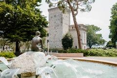 Riva del Garda. Lake Garda Northern Italy Royalty Free Stock Images