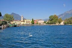 Riva del Garda, Meer Garda royalty-vrije stock foto