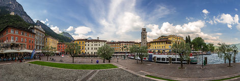 Riva del Garda Royalty Free Stock Photography