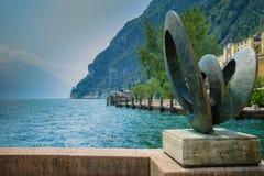 Riva del Garda Polizia Italia del Nord del lago Fotografia Stock