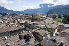 Riva del Garda stad Stock Afbeelding