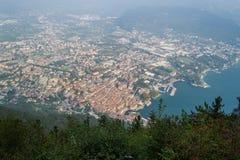 Riva del Garda, from top. Trentino Italy Stock Image