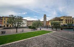 Riva del Garda. Trentino, Italy at Sunset Royalty Free Stock Image