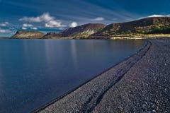 Riva del lago Immagine Stock