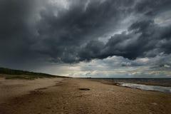 Riva del Mar Baltico Fotografia Stock