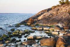 Riva del Mar Baltico fotografia stock libera da diritti