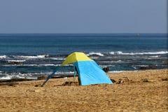Riva del mar Mediterraneo Fotografia Stock Libera da Diritti