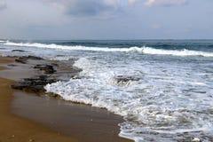 Riva del mar Mediterraneo Fotografie Stock Libere da Diritti