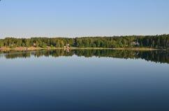 Riva del mare di Baltik Fotografie Stock