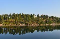 Riva del mare di Baltik Fotografia Stock