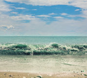Riva dell'oceano Immagine Stock