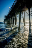 Riva dell'oceano, California immagini stock
