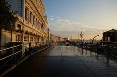 Riva Della Schiavone, Венеция Стоковое фото RF