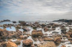 Riva della spiaggia Fotografie Stock