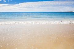 Riva di mare australiana della spiaggia di estate di Ningaloo bella Immagini Stock