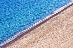 Riva di mare, linea costiera Immagine Stock Libera da Diritti