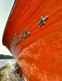 Riva kilwater Zdjęcie Stock
