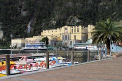 Riva  at lake Garda (Italy) Stock Photos