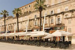 Riva promenade. Split. Croatia Royalty Free Stock Photography