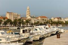 Riva promenade. Split. Croatia Stock Images